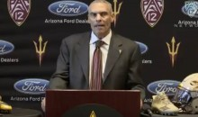 Herm Edwards Had No Clue ASU's Mascot Was The Sun Devil During Press Conference (VIDEO)