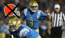 Josh Rosen Reportedly Doesn't Want The Cleveland Browns To Draft Him; Might Stay In School To Avoid It