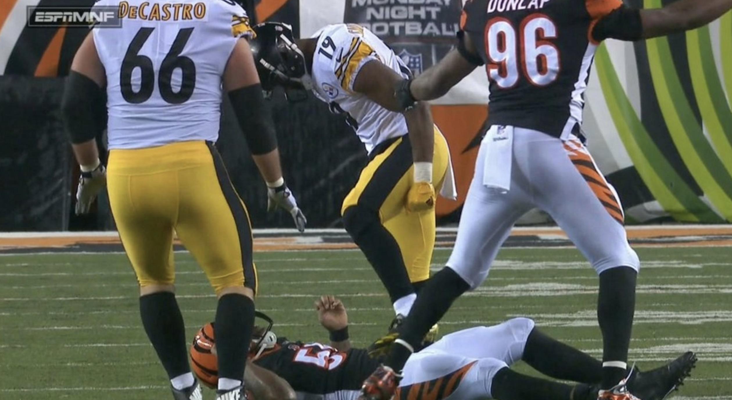 Antonio Brown's toe sprain shouldn't hamper him on MNF