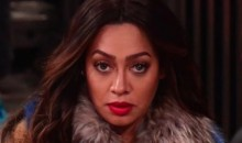 La La Anthony Gives Carmelo a Savage Death Stare, Sending Basketball Twitter Into a Frenzy (PIC + TWEETS)