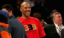 LaVar Ball Made Sure EVERYBODY Saw Him Having the Time of His Life Courtside at Madison Square Garden (VIDEOS)