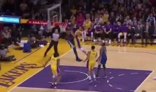 Lakers Bench Goes Nuts After Larry Nance Jr. Posterized Kevin Durant (VIDEO)