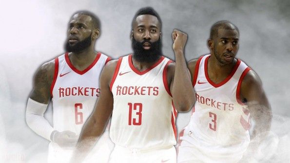 """detailed look a88bf 63f82 REPORT: Houston Rockets Will """"Hunt"""" LeBron James In Free ..."""