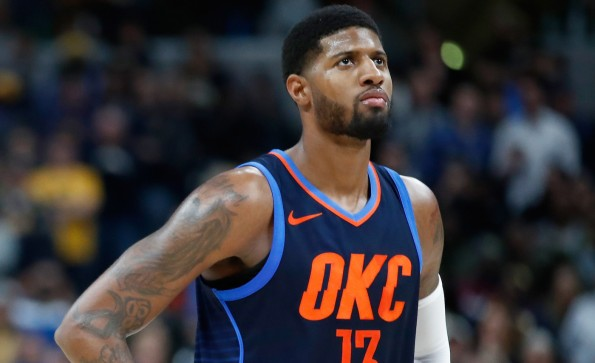 Will Paul George stay with the Oklahoma City Thunder?