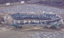 Second Time's a Charm For Destruction of Stubborn Pontiac Silverdome (VIDEO)