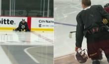 Golden Knights Use Dong & Helmet To Pull Killer Prank on Nate Schmidt (PICS)