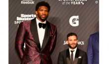 This Photo of Joel Embiid and Jose Altuve Standing Side-By-Side Is Perfect (PIC)