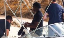 Michael Jordan Was Rocking a Mystery Pair of Jordans on His Barbados Vacation (PICS)
