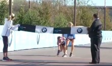 High School Runner Motivates Struggling Marathoner in the Most Awesome Way (VIDEO)