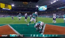 Jarvis Landry Trolled the Patriots With Deflated Football TD Celebration (VIDEO)