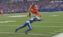 Devontae Booker's Amazing Hurdle & TD Run Didn't Count, But It Was Still AWESOME (VIDEO)