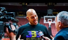 LaVar Ball Unveils Logo For New Basketball League, And Of Course Lonzo's On It (PIC)