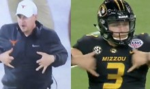 Texas' Tom Herman Mocks Missouri Drew Lock's Touchdown Dance During Bowl Game (VIDEO)