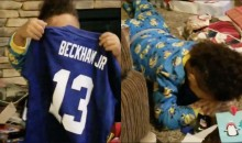 Adorable 5-Year-Old Fan Had The Best Reaction When He Received An Odell Beckham Jersey For Christmas (VIDEO)