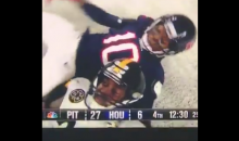 Steelers' Vince Williams Got A Taunting Penalty For Trying To Cuddle With DeAndre Hopkins (VIDEO)