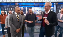 Herm Edwards' Last Day At ESPN Was An Emotional One For Suzy Kolber & Trey Wingo (VIDEO)