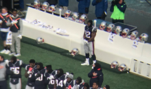 James Harrison Stood Alone During National Anthem In First Game With Patriots
