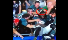 Watch This Eagles Fan Jack LeGarrette Blount's Durag Right Off His Head (VIDEO)