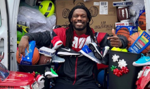 Texans' Clowney Put Gifts In The Trash Cans That Jaguars Fans Sent Him To Send To Kids For Christmas