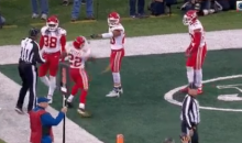 Chiefs' Marcus Peters Throws Ref's Flag Into Stands (VIDEO)