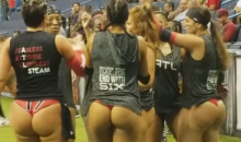 The LFL's Atlanta Steam Warming Up Before A Championship Game Was A Sight To Behold (VIDEO)