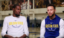 Stephen Curry Says He's 'Really Serious' About Panthers Ownership; Durant Says He Wants In (VIDEO)