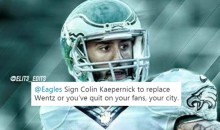 Eagles Fans Beg The Team To Sign Colin Kaepernick To Save The Season (TWEETS)