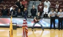 Dude Rocks the Sh*t Out of National Anthem on Electric Guitar at Fordham-Harvard Game (Video)