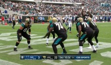 Leonard Fournette Shoots Free Throws To Celebrate Scoring Touchdown Against Colts (VIDEO)