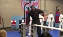 Watch Kawhi Leonard Karate Chop Some Boards With His Bare Hands (VIDEO)