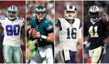 NFL's 10 BIGGEST Breakout Stars of 2017 (VIDEO)