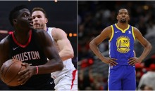 Durant Says Clint Capela's Job Isn't Hard So He Shouldn't Be Saying The Rockets Are Better Than Warriors (VIDEO)