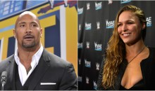 REPORT: Ronda Rousey Might Team Up With The Rock For WrestleMania 34 Match