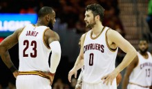 """Report: Cavaliers Players Hold """"Loud and Intense"""" Meeting to Call Out Kevin Love Over Supposed Illness (Tweet)"""
