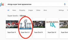 Even Google Believes The Vikings & Patriots Will Face Off In Super Bowl LII (PICS)