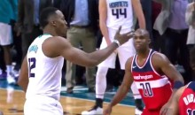 Dwight Howard Blows Kiss at Wizards After They Picked Him to Shoot Free Throws and He Nailed Them Both (Video)