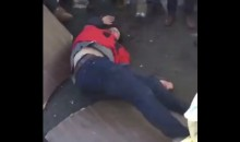 Eagles Fan KO's Friend After Slamming Him Through Table Onto Pavement (VIDEO)