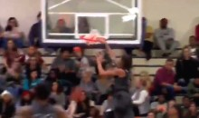 Division II Basketball Player Leaps Over Opponent for Insane Alley-Oop Dunk (Video)