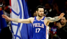 """J.J. Redick Says He's """"Not Entirely Convinced"""" That Dinosaurs Existed & Kyrie Irving Agrees (VIDEO)"""