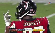 Falcons' Grady Jarrett Flips Off Referee For Calling Him Offside (VIDEO)