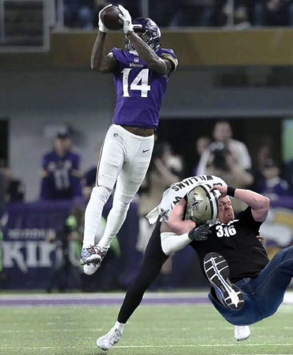 here are social media u0026 39 s funniest photoshops of marcus williams missed tackle  pics