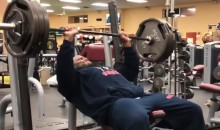 James Harrison Celebrates Super Bowl Berth By—What Else?—Hitting Weights First Thing Monday Morning (VIDEO)