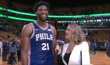 After Finally Making All-Star Game, Joel Embiid Takes a Hard Pass on Date with Rihanna (VIDEO)