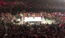 John Cena Sings 'Fly Eagles Fly' To The Crowd In Philadelphia (VIDEO)
