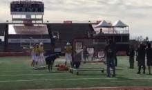 Josh Allen's Accuracy Is…A Little Off…LOL (VIDEO)