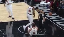 Cavs Teammate Refuses To Help Kevin Love Get Up, Walks Right Over Him (VIDEO)