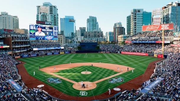 MLB Baseball Stadium