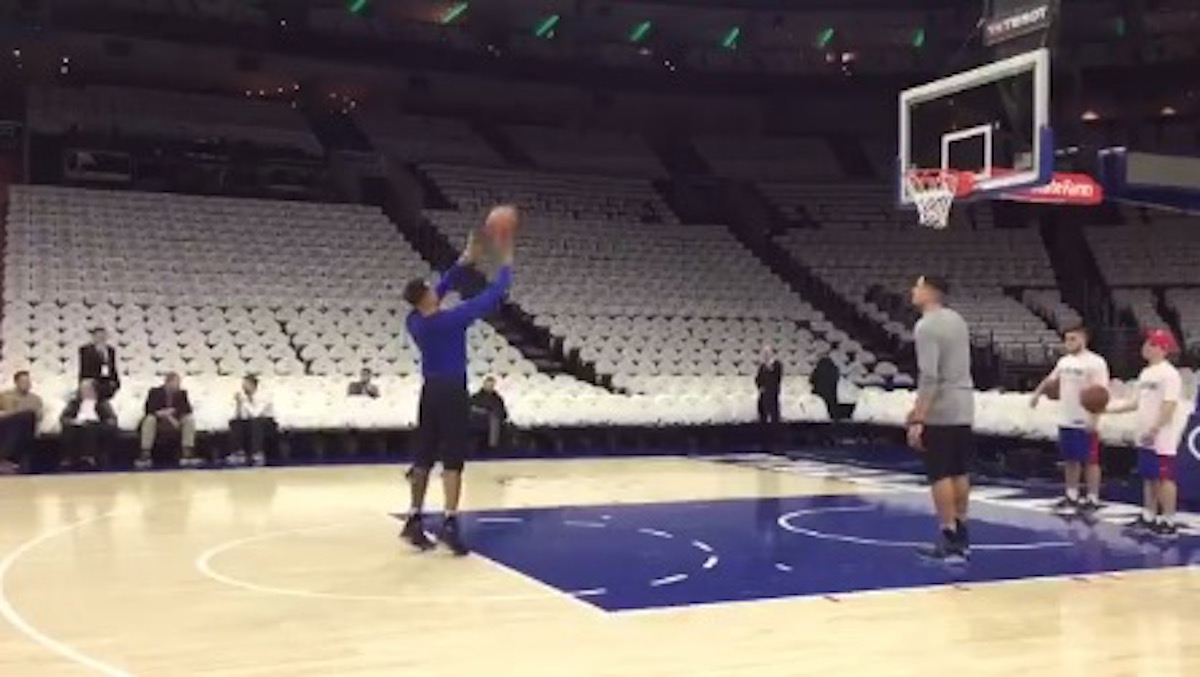 Total Pro Sports Markelle Fultz's Shot Is Still An Ugly ...