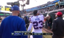 Bills' Micah Hyde Sprays Jaguars Fan With Water For Trash-Talking (VIDEO)