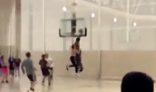 Myles Garrett Posterized Some Poor Soul During Pick-Up Game (VIDEO)